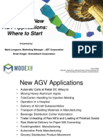 AGV Applications - Where to Start