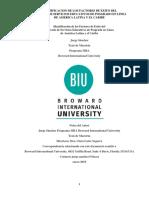 Identificacion de Los Factores de Exito Del Mercado de Servicios Educativos de Posgrado en Linea de America Latina y El Caribe