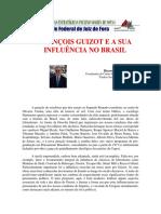François Guizot e Sua Influencia No Brasil