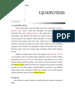 Acara 9 Uji Hipotesis (z or t)