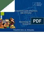 Constitución Política del Estado Plurinacional de Bolivia, en Aymara