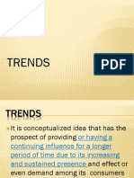 Elements of Trends