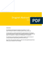 Dragnet Abstract Reasoning Solution