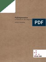 [GENETTE, Gerard] Palimpsesto - A literatura de Segunda  Mão.pdf
