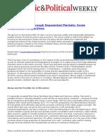 Demonetization through segmented markets