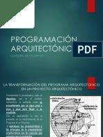 Programación Arquitectónica Pi