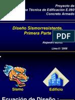cLASES de Norma E.060 de Alejandro Muñoz