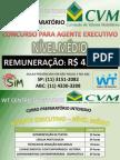 CVM - Concurso da Comissão de Valores Mobiliários 2010 - Agente Executivo