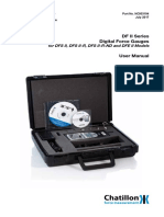Chantillon Digital Force Gauges Dfii Series Manual English