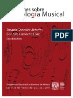 Libro Reflexiones Sobre Semiologia Musical