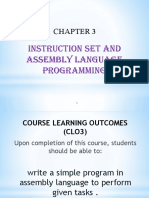 Chapter 3 (3.2.1) Apply Assembly Language