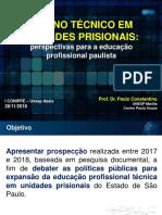 Ensino Prisionais - Apresentacao 28 11 2018
