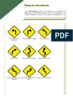 sinalização transito