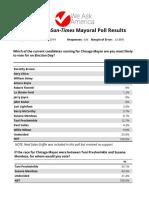 Sun Times Chicago Mayoral Jan 2019 Draft