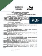 1 - FOLHA 1 PROCESSO SELETIVO PARA PROFESSOR FRONTEIRAS