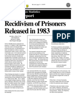 Recidivism of Prisoners