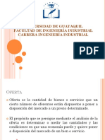 DETERMINACIÓN DE LA OFERTA