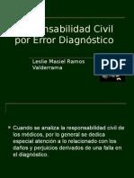 Responsabilidad Civil por Error Diagnóstico