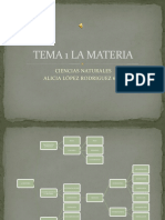 resumen tema 1 la materia nivel 6º de Primaria