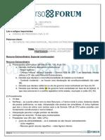 Recursos_Daniel Assumpção_Aula 13 - Recurso Especial_ Extraordinário