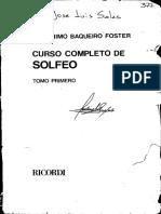 Solfeo Baquiero Foster