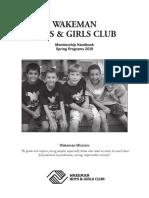 Wakeman spring Program Book