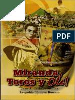 Miranda Toros... y olé