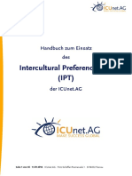 Handbuch Intercultural Preference Tool