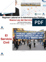 Chiclayo Servicio Civil Gestion RRHH