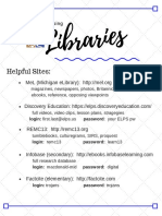 1a library helpful sites 2019