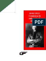 30 01 1933 Comienza La Salvacic3b3n de Alemania