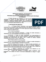 1 - FOLHA 1 PROCESSO SELETIVO PROFESSOR FRONTEIRAS
