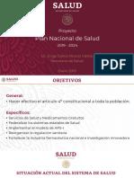 PROYECTO Plan Nacional de Salud 2019 -2024