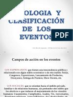 Ppt Tipologia y Clasificacic3b3n de Eventos 1