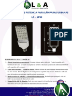 Lampara Urbana La-sp100