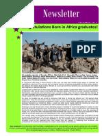 Born in Africa Newsletter December 2018