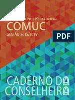 Caderno Conselheiro de Política Cultural BH 2018-2019