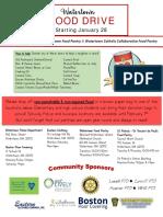 Food Drive Flyer - Community