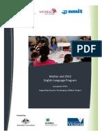 Mother Child English Language Program Report