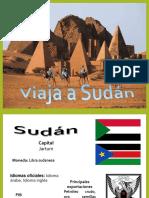 Presentación de Sudán