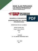 DESARROLLO ORGANIZACIONAL UAP