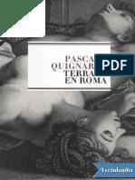 Copy of Terraza en Roma - Pascal Quignard