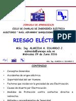MSc Ing Almeida Eduardo Riesgo Electrico Junio 2016