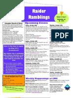 Raider Ramblings 2010-11 -- Issue 03