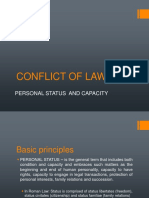 2018 Conflict of Laws - Discussion Notes 5