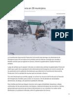 07-01-2019 Declaran Emergencia en 38 Municipios - Diario Noticias