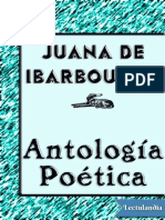 Ibarbourou Juana, Antologia Poetica
