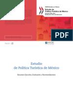 Estudio Politica Turistica Mexico