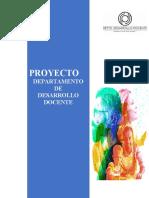 Desarrollo Docente en Escuelas Normales, Proyecto 2019
