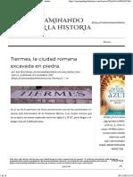 Tiermes Ciudad Romana Escavada
